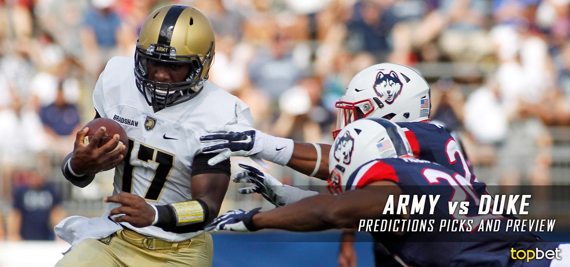 Army vs Duke Football Predictions and Picks
