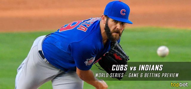 cubs indians cleveland series chicago game betting preview mlb predictions picks six november
