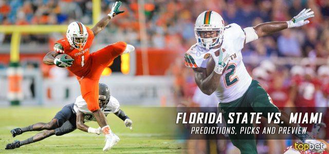 Florida State Seminoles vs. Miami Hurricanes Predictions, Picks, Odds, and NCAA Football Week Six Betting Preview – October 8, 2016