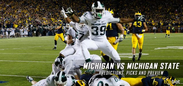 michigan michigan state betting line betting on college football