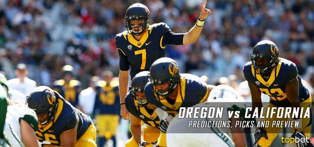 Oregon vs california football prediction
