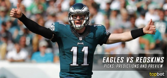 Philadelphia Eagles vs. Washington Redskins Predictions, Odds, Picks and NFL Week 6 Betting Preview – October 16, 2016