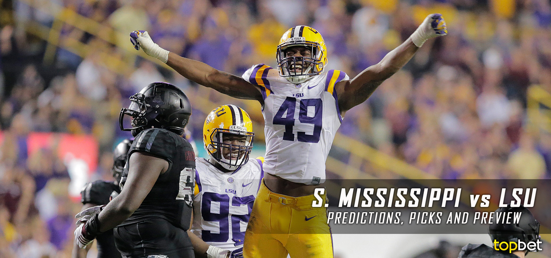 Southern Mississippi vs LSU Football Predictions and Preview