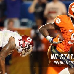 clemson vs nc state spread odds for college football