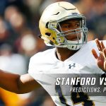 Stanford Cardinal vs. Notre Dame Fighting Irish Predictions, Picks, Odds, and NCAA Football Week Seven Betting Preview – October 15, 2016
