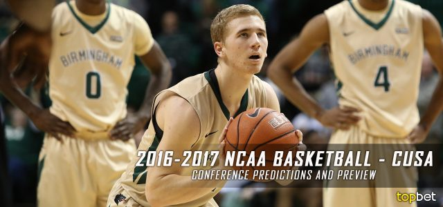 2016-17 Conference USA NCAA College Basketball Predictions and Preview