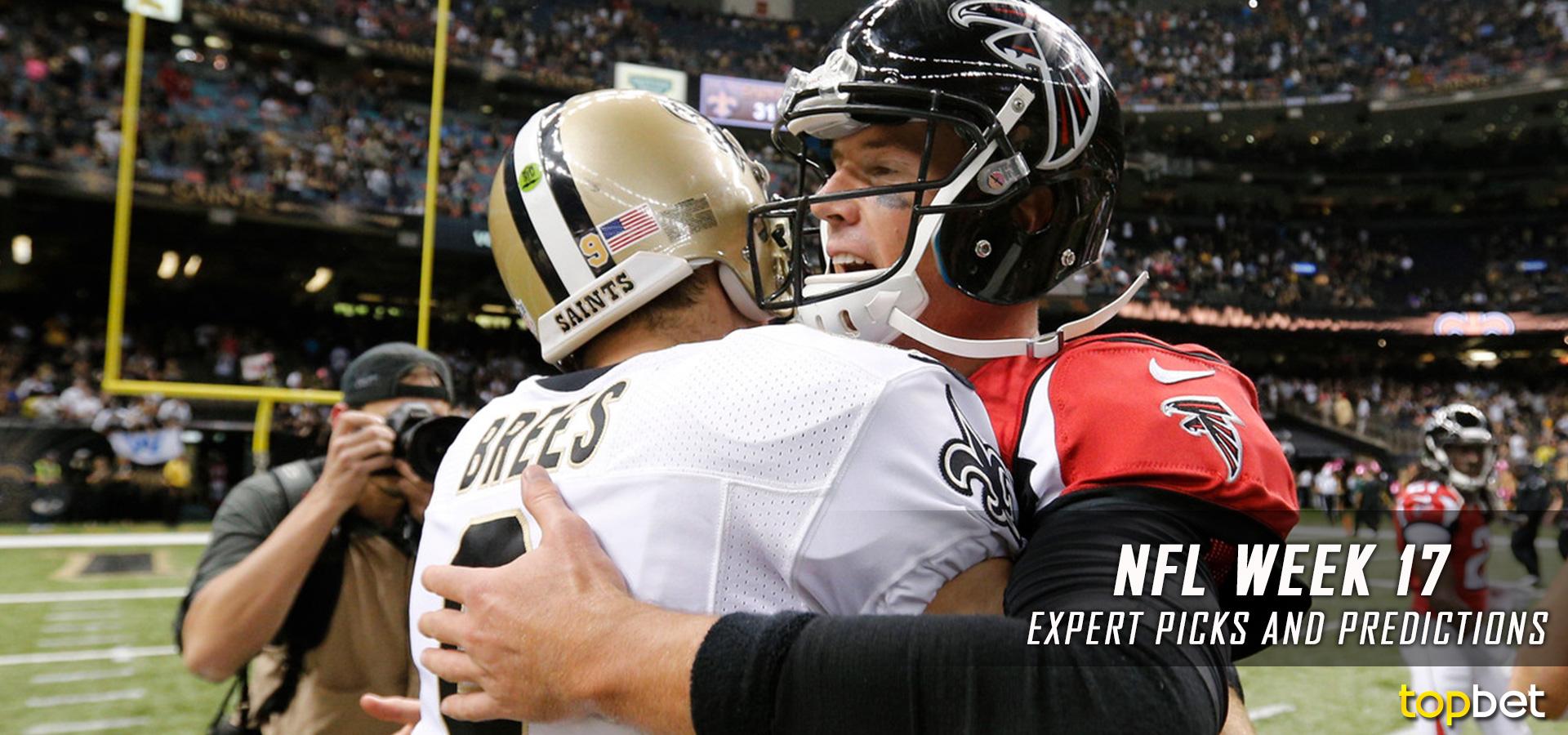 2016 NFL Week 17 Expert Picks and Predictions