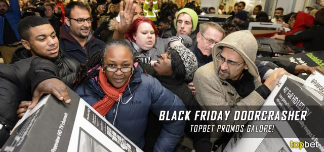 Breaking News – Black Friday Sports Betting Promotion 2016