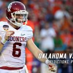 Oklahoma Sooners vs. Iowa State Cyclones Predictions, Picks, Odds, and NCAA Football Week 10 Betting Preview – November 3, 2016