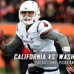 California Golden Bears vs. Washington State Cougars Predictions, Picks, Odds, and NCAA Football Week 11 Betting Preview – November 12, 2016