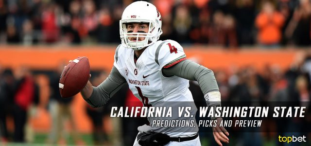 new styles cad88 bb4c8 California Golden Bears vs. Washington State Cougars Predictions, Picks,  Odds, and NCAA