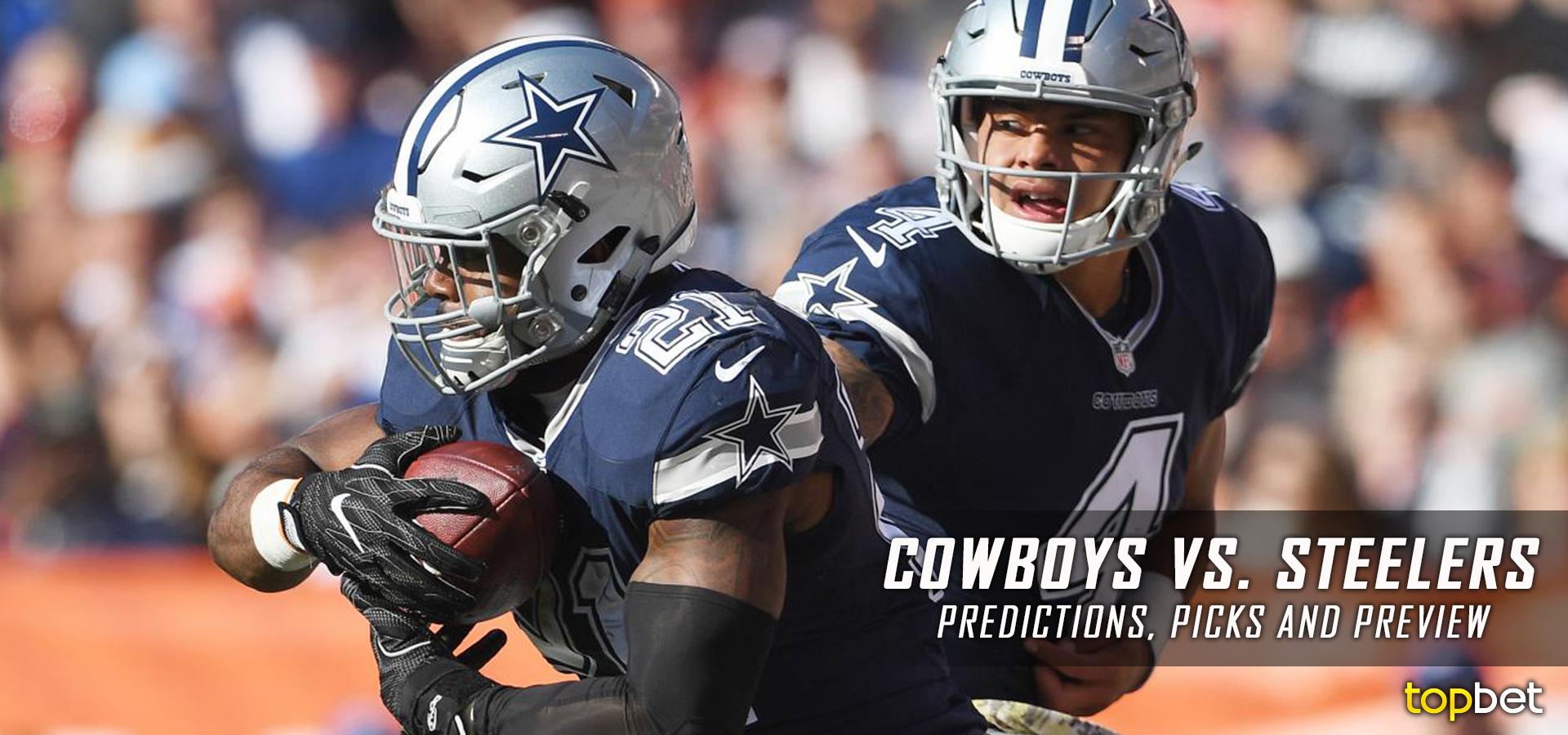 Dallas Cowboys vs Pittsburgh Steelers Predictions and Picks