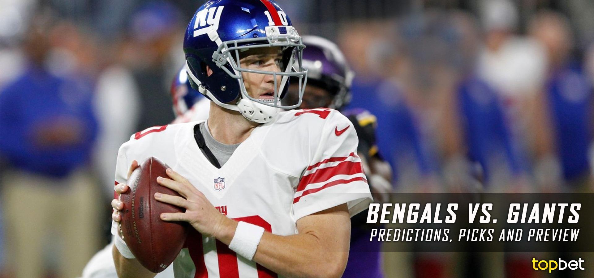 b58e9a33 Cincinnati Bengals vs New York Giants Predictions and Picks