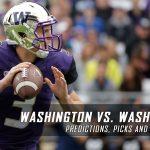 Washington Huskies vs. Washington State Cougars Predictions, Picks, Odds, and NCAA Football Week 13 Betting Preview – November 25, 2016