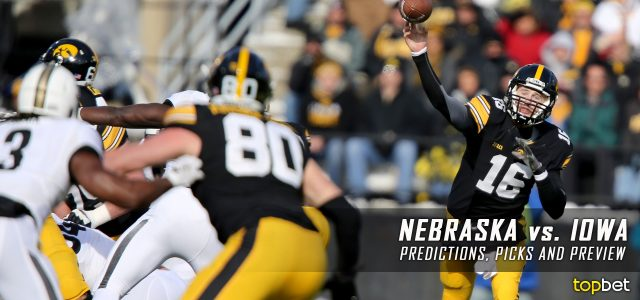 Nebraska Cornhuskers vs. Iowa Hawkeyes Predictions, Picks, Odds, and NCAA Football Week 13 Betting Preview – November 25, 2016