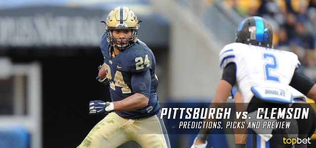 Pittsburgh Panthers vs. Clemson Tigers Predictions, Picks, Odds, and NCAA Football Week 11 Betting Preview – November 12, 2016