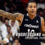 Rhode Island Rams vs. Cincinnati Bearcats Predictions, Picks, Odds and NCAA Basketball Betting Preview – November 19, 2016