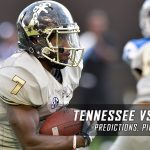Tennessee Volunteers vs. Vanderbilt Commodores Predictions, Picks, Odds, and NCAA Football Week 13 Betting Preview – November 26, 2016