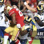 week 12 nfl picks 49ers saints spread