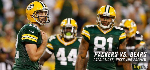 packers bears betting line nfl football picks this week