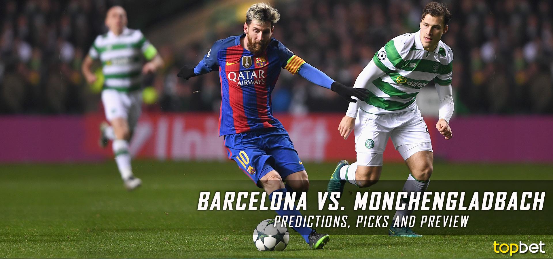 barcelona vs gladbach