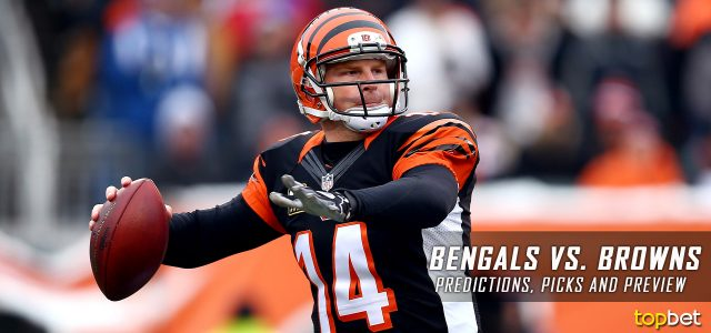 Cincinnati Bengals vs. Cleveland Browns Predictions, Odds, Picks and NFL Week 14 Betting Preview – December 11, 2016