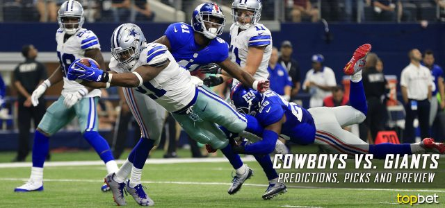 Dallas Cowboys vs. New York Giants Predictions, Odds, Picks and NFL Week 14 Betting Preview – December 11, 2016