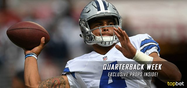NFL QB Matchups Week 14 – Quarterback Week Prop Betting