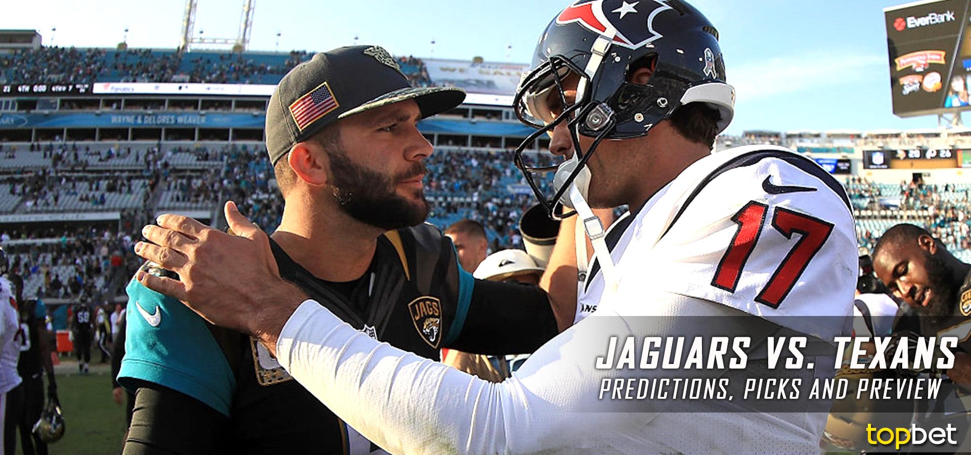 Marvelous Jacksonville Jaguars Vs Houston Texans Predictions And Picks