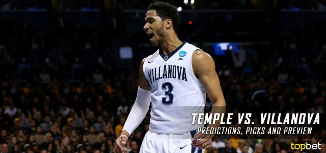 Temple Owls vs. Villanova Wildcats Predictions, Picks, Odds and NCAA Basketball Betting Preview – December 13, 2016