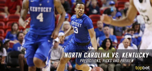 North Carolina Tar Heels vs. Kentucky Wildcats Predictions, Picks, Odds and NCAA Basketball Betting Preview – December 17, 2016