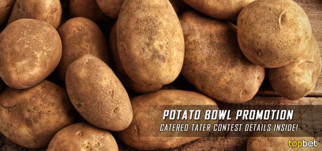 TopBet presents NCAA College Football Famous Idaho Potato Bowl Free Potato Contest