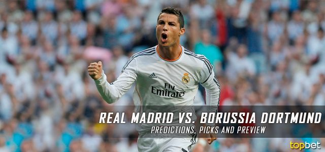 Real Madrid vs. Borussia Dortmund Predictions, Odds, Picks and UEFA Champions League Group F Betting Preview – December 7, 2016