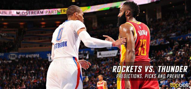 Houston Rockets vs. Oklahoma City Thunder Predictions, Picks and NBA Preview – December 9, 2016
