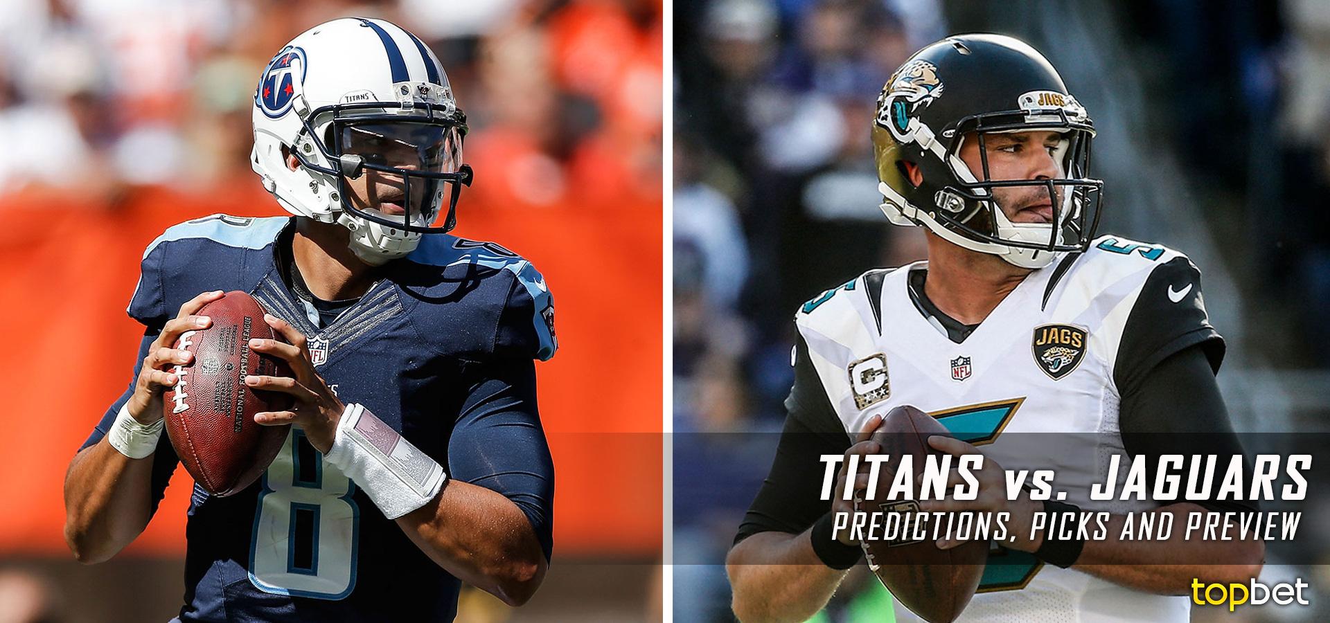 e5173be5 Tennessee Titans vs Jacksonville Jaguars Predictions & Picks