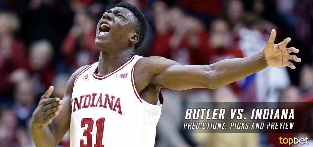 Butler Bulldogs vs. Indiana Hoosiers Predictions, Picks, Odds and NCAA Basketball Betting Preview – December 17, 2016