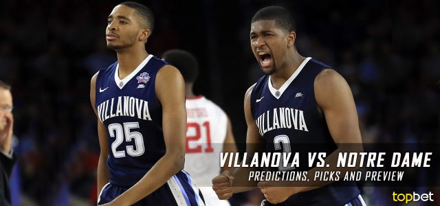 Villanova Wildcats vs. Notre Dame Fighting Irish Predictions, Picks, Odds and NCAA Basketball Betting Preview – December 10, 2016