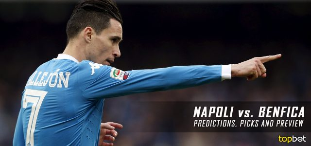 Benfica vs. Napoli Predictions, Odds, Picks and UEFA Champions League Group B Betting Preview – December 6, 2016