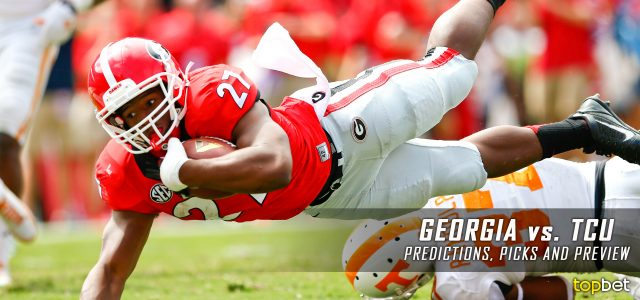 espn college football georgia ncaa football lines picks