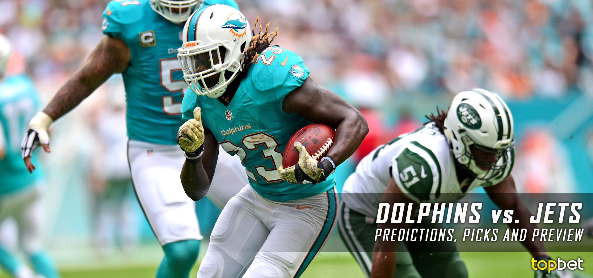Miami Dolphins vs New York Jets Predictions, Picks & Preview