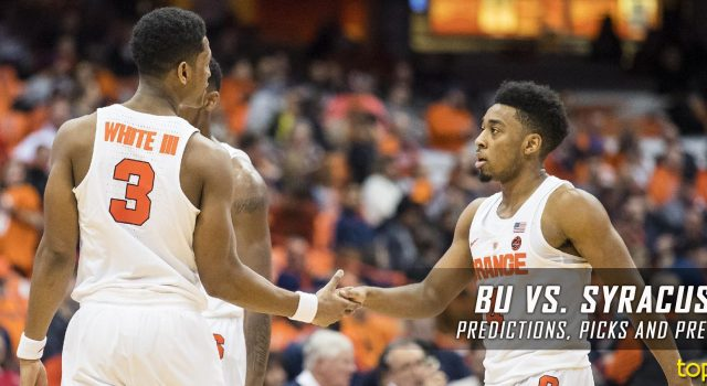 Boston University Terriers vs. Syracuse Orange Predictions, Picks, Odds and NCAA Basketball Betting Preview – December 10, 2016