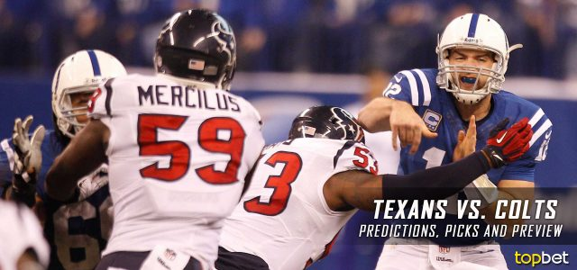 Houston Texans vs. Indianapolis Colts Predictions, Odds, Picks and NFL Week 14 Betting Preview – December 11, 2016
