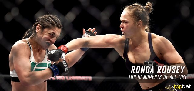 Top 10 Ronda Rousey Moments of All Time (So Far)
