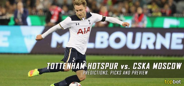 Tottenham Hotspur vs. CSKA Moscow Predictions, Odds, Picks and UEFA Champions League Group E Betting Preview – December 7, 2016