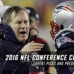 2016-17 NFL Conference Championship Expert Picks and Predictions: Packers vs. Falcons & Steelers vs. Patriots