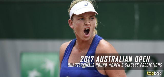2017 Australian Open Women's Singles Quarterfinals Picks and Predictions