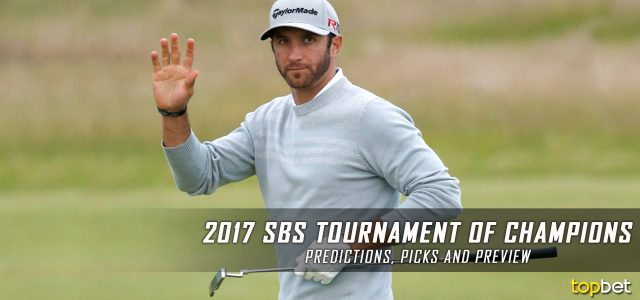 2017 SBS Tournament of Champions Predictions, Picks, Odds and PGA Betting Preview