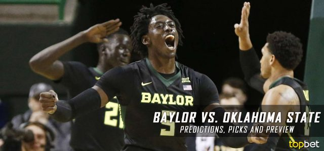 Baylor Bears vs. Oklahoma State Cowboys Predictions, Picks, Odds and NCAA Basketball Betting Preview – February 8, 2017