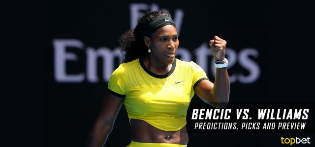 Serena Williams vs. Belinda Bencic Predictions, Odds, Picks And Tennis Betting Preview – 2017 Australian Open First Round