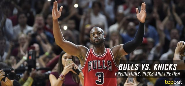 Chicago Bulls vs. New York Knicks Predictions, Picks and NBA Preview – January 12, 2017